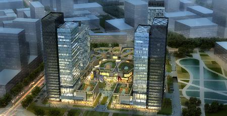 天山一方中心  绿色建筑咨询